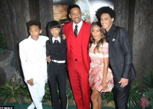will smith famille