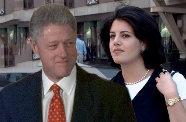 Right! So. monica lewinsky and bill clinton apologise