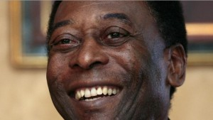 pelé souriant