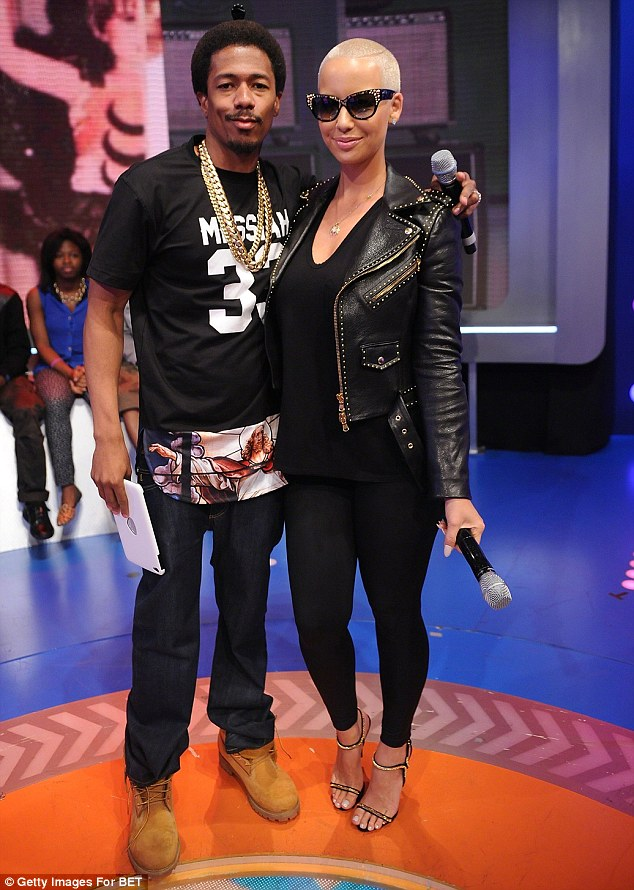 NICK CANNON, AMBER ROSE