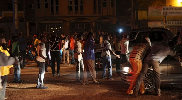 manifestation burkina