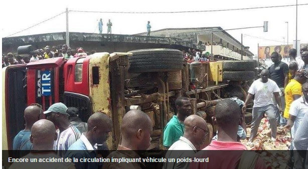Accident-camion