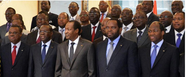 anciens ministres  compaore